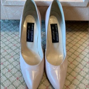 Stuart weitzman light pink pumps